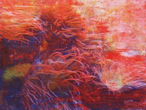 Giovanni Frangi Samoa, 2007 tecnica mista su tela 200 x 260