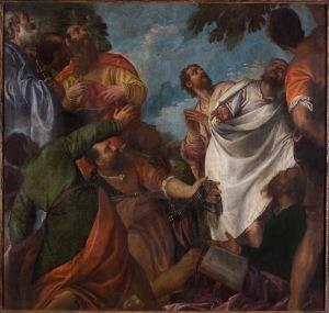 Paolo Veronese, Dodici Apostoli, Frammento