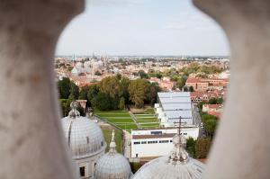 visuale dalle guglie della Basilica del Santo