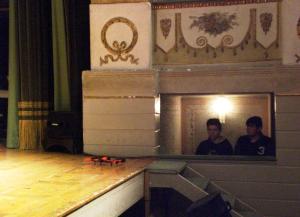 il drone IPSIA sul palco