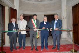 i due rettori patavini Rizzuto e Zaccaria con  il sindaco Marcon e il cons. regionale Gerolimetto